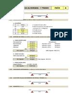 ALIGERADOS - 1-2-3-4-5 TRAMOS