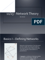 Introduction to Key Concepts of Network Theory