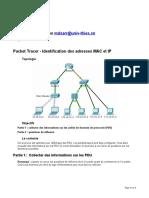 TP01-SR1-Identifer les adresses MAC et IP