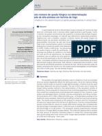Emprego do método número de queda fúngico na determinação da atividade de alfa-amilase em farinha de trigo