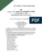 ACTAS DE COM. GAC. 918-05 (P.L.085-05  C acum. 096-05  C  215-05  S)