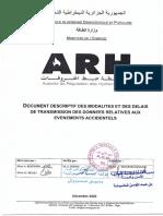Procedure Reporting Arh-1