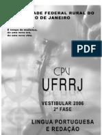 PROVA REDAÇÃO & PORTUGUES SEG FASE