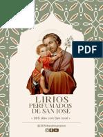 DÍA 4 Lirios Perfumados a San José