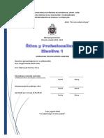 22 Ética y Profesionalismo E1 ES 2019-2023
