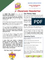 Week 31-Newsletter