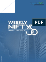 Nifty 50 Reports for the Week (18th – 22nd April '11)