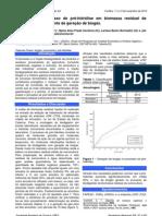 Avaliação do processo de pré-hidrólise em biomassa residual de suinocultura como fonte de geração de biogás.