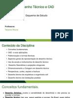 Esquemas de Estudo - Desenho Tecnico e CAD