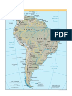 Maps of the World - South America