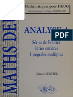 Analyse. 4, Series de Fourier, - Servien, Claude