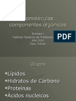 Biomoléculas presentación