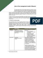 Critical evaluation of Baumol model