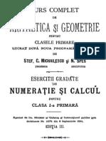 Curs complet de aritmetică şi geometrie pentru clasele primare