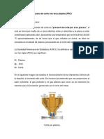 Proceso de corte con arco plasma (PAC)1raParte
