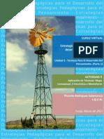 Actividad 3 - Mapa conceptual, V Heurística y Mentefacto - Rodríguez, Ricardo