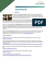 Introducing Workday Wrap-Up Blog