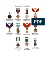 Philippine Army - Awards and Decorations