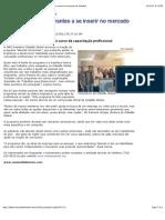 Versão para impressão - Programa ajuda imigrantes a se inserir no mercado de trabalho