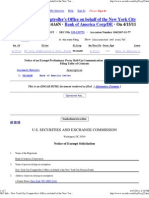 SEC Info - New York City Comptroller's Office on Behalf of the New York City Pension Funds