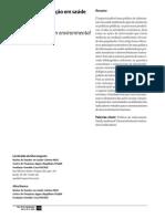 politica de informação em saúde ambiental