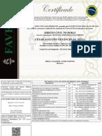 Certificado de Conclusão de Curso - COM FUNDO - César Augusto Venâncio Da Silva - DIREITO CIVIL 750 HORAS (1)