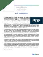 Fato Relevante - Soft Launch_PORT