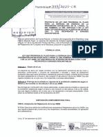 Fuerza Popular-proyecto de Ley-tecnopor