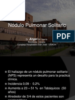 NoduloPulmonar