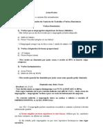 Direito Coletivo Do Trabalho e Leis Específicas AULA 4