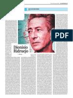 Dionisio Ridruejo (Poesía), de Santiago Montobbio