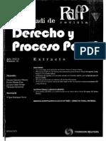 2, bis-a, Aplicación de la criminología al DP, Ribas (impares)