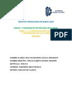 CLASIFICACION DE LOS FLUIDOS Y PROPIEDADES- ENILTON ZAVALA