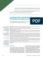 Caracteristicas Clinicas de Epilepsia y Convulsion Febril[1]