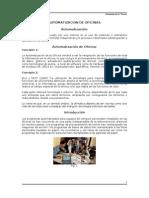 AUTOMATIZACION DE OFICINAS