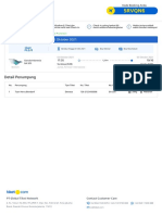 E Voucher Flight Depart ID 117654700