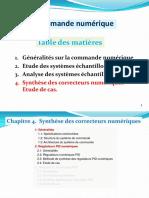 DDC -  Synthèse Correcteurs numériques