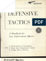 Defensa Personal - FBI Defensive Tactics Manual