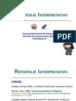 DIAPOSITIVAS REPORTAJE INTERPRETATIVO RVF