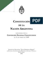 Juan Domingo Perón - Discurso del General Perón al iniciar las sesiones de la Convención Nacional de Constituyente