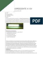 fluorescente a 12 v (ws)