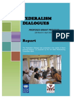 Kirant Federalism Dialogue Report 30 Mar-1 Apr