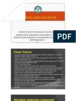DOKUMEN PERSYARATAN INPASSING GURU PNS/NON PNS