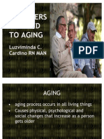 DISORDERS RELATED TO AGING