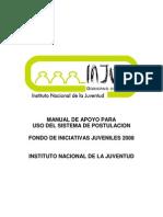 Manual de Apoyo para uso del sistema FIJ