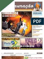 Jornal Restauração - 2ª Edição - MIR ARARUAMA RJ