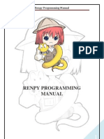 Renpy Programming Manual