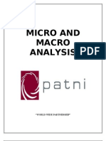 Micro and Macro Analysis Eco