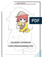 Renpy Cookbook