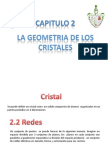 Cap 2  geometria de los cristales